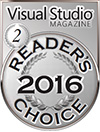 HelpNDoc Silver Award at the 2016 Visual Studio Magazine Readers Choice