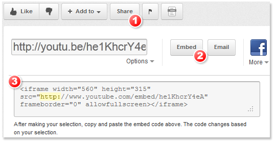 How to embed a YouTube video in a CHM help file or HTML
