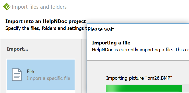 Import WinHelp HLP files