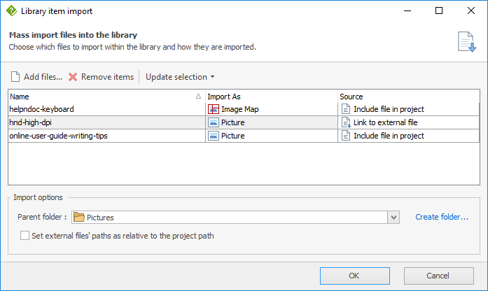 Rapidly import multiple media elements in your help projects with HelpNDoc 5.8