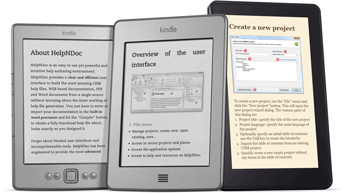 Produce eBooks compatibles con Amazon Kindle