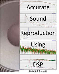 Accurate sound reproduction using DSP book cover