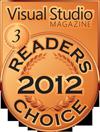 HelpNDoc Bronze Award at the 2012 Visual Studio Magazine Readers Choice