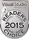 HelpNDoc Silver Award at the 2015 Visual Studio Magazine Readers Choice