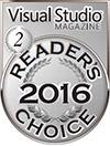 HelpNDoc Silver Award at the 2016 Visual Studio Magazine Readers Choice