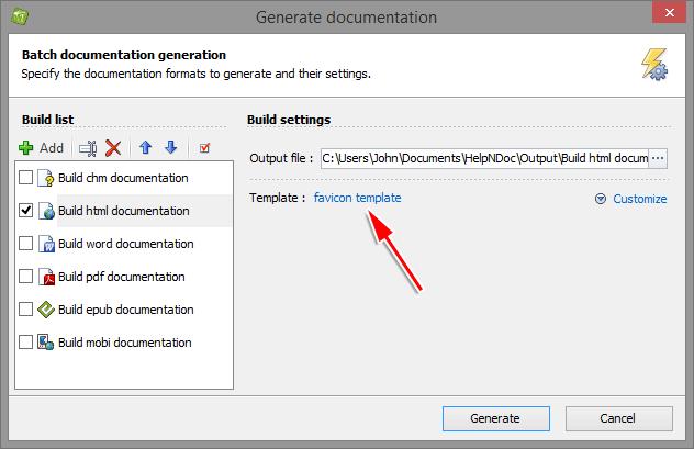 Wie man einer erstellten HTML-Dokumentation ein Cross-Browser ...