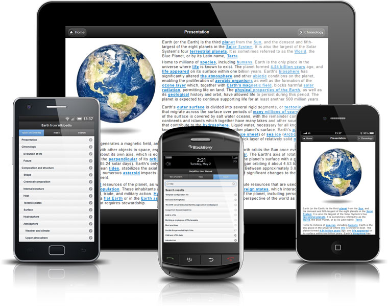 JQuery Mobile Web-Sites for iPad, iPhone, Android, Blackberry...